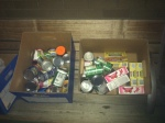 Donations for the Tri-Cities Food Bank were collected at free the Open Government Forum.